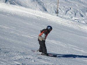 Moje dziecko będzie jeździć na nartach